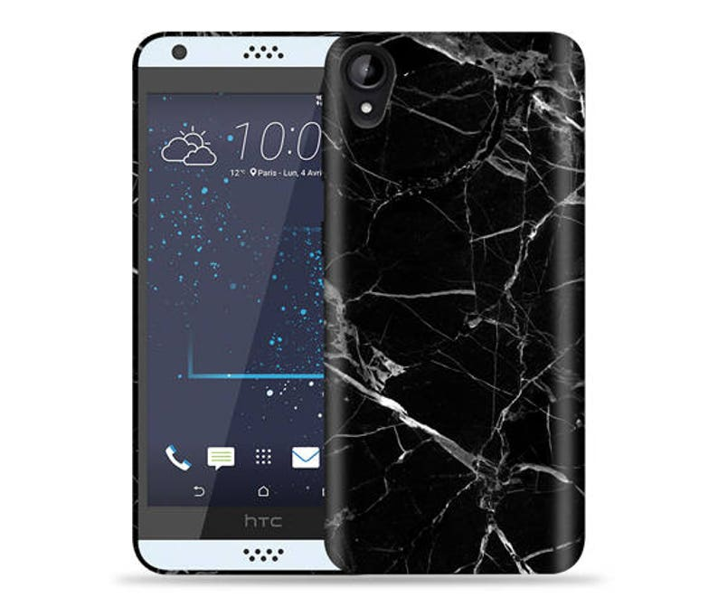 new style ca4e8 4f3e0 HTC Desire 530 550 555 Case - D530 D550 D555 Case #Black Marble Cool Design  Hard Phone Case,Fathers Day Gift