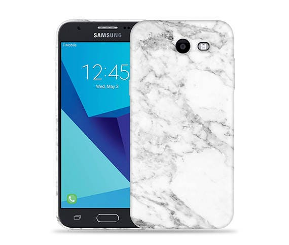 more photos e39a5 36e31 For Samsung Galaxy J3 Emerge Case/ J3 Prime/ J3 2017/ J3 Luna Pro/ Amp  Prime 2/ Express Prime 2 #Marble Cool Design Hard Phone Case