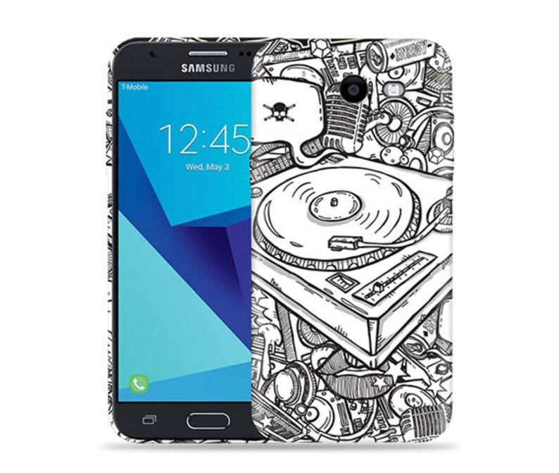 For Samsung Galaxy J3 Emerge Case/ J3 Prime/ J3 2017/ J3 Luna Pro/ Amp  Prime 2/ Express Prime 2 #DJ Cool Design Hard Phone Case,Birthday's