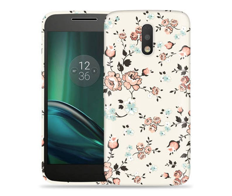 the latest a21ce 1b6e6 Motorola G4 Play Case - Moto G4 Play Case #Flowery Vines Cool Design Hard  Phone Cover,Anniversary Gift,Birthday's