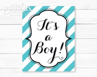 Custom It's a Boy Sign, Baby Shower Decorations, Printable Its a Boy Poster, Baby Shower Banner DIY, Birth Announcement, Gender Reveal Party