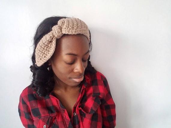 Crochet Bunny Headband, Gifts for Girlfriend, Bunny Ears Headband, Easter Gifts for Her, Boho Womens Headband, Best Gifts for Her