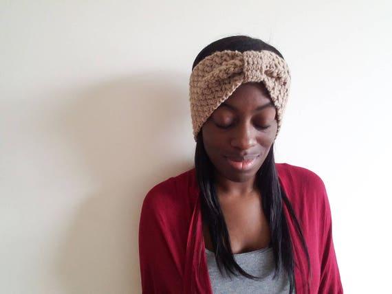 Clothing Gifts for Her - Best Friend Gift - Crochet Ear Warmer - Gift for Her Birthday - Crochet Boho Headband - Christmas Gifts for Friends