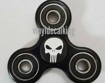 Skull fidget toy finger spinner