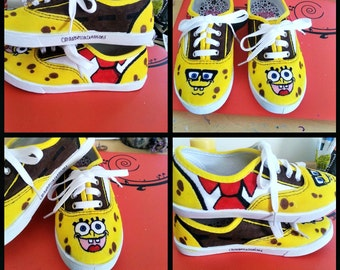 brand new 669fd 76e3a SpongeBob Squarepants, AND ANY Children s Themed Shoes!