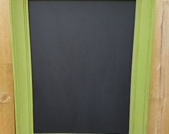 Cottage Green Repurposed Picture Frame Chalkboard