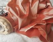 BLUSH TAFFETA SILK fabric