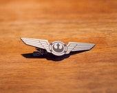 Star Wars X-Wing pilot wings Tie Clip Han Solo Luke Skywalker Leia Alliance New Republic Rieekan Empire Strikes Back Rey Finn Starbird