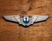 Star Wars Y-Wing Pilot Wings General Han Solo Luke Skywalker Leia Alliance New Republic Rieekan Dodonna Empire Strikes Back Cosplay