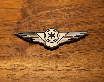 Star Wars Tie Fighter Pilot Wings - ISB Lasan Honor Guard Rebellion Intelligence Ghost Zeb Ezra Inquisitor Clone Troopers Fifth Cosplay
