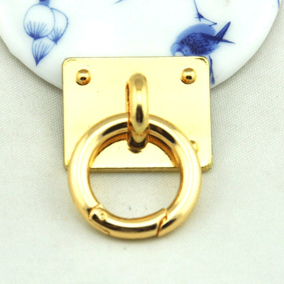 finest selection ed47d 502d8 2pcs /5pcs 28x22mm Gold Tassel Hook,DIY Phone Case Tassel Hook Cab,Diy  phone case Accessories,Clasp Key Ring.25mm spring ring jump rings