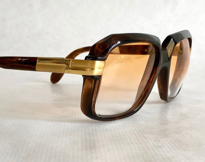 Cazal 607 Col 80 Vintage Sunglasses with Custom DRCW Lenses – Made in West Germany – Including Cazal Softcase
