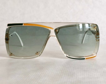 4603ba486129 Cazal 859 Col 246 Vintage Sunglasses – New Old Stock – Made in West Germany  – including Cazal Pen