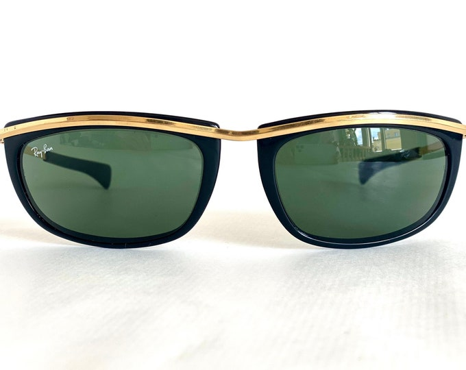 Vintage 1980s Ray-Ban by Bausch & Lomb Olympian I Sunglasses – Made in USA – Including Case