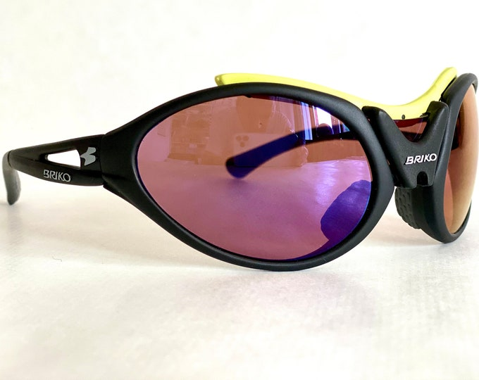 Mario Cipollini's Briko Jumper Vintage Sunglasses – New Old Stock – Full Set – Made in Italy