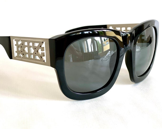 KTZ for Linda Farrow 17/1 Vintage Sunglasses – New Old Stock – Full Set – Made in Japan