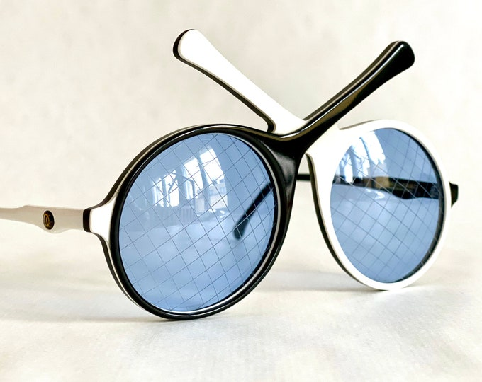 Vintage 1985 Oliver Goldsmith Tennis Racquets Sunglasses – New Old Stock – Handmade in England