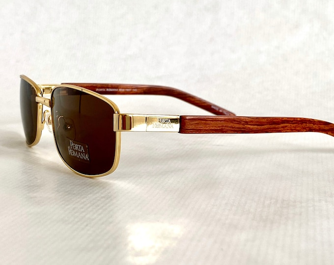 Porta Romana 1607 Vintage Sunglasses – New Old Stock – Made in Italy