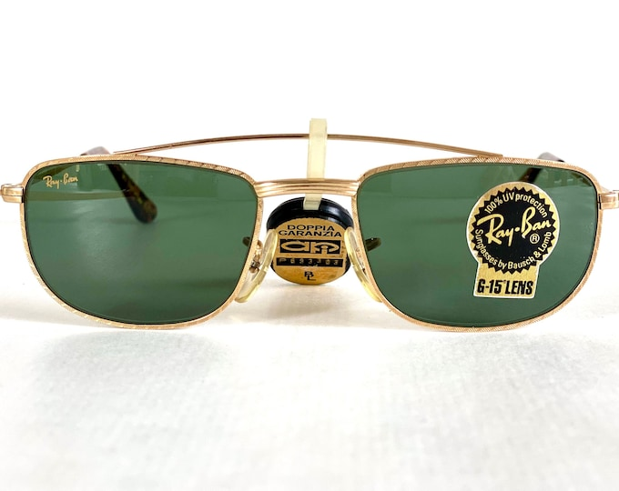 Vintage 1980s Ray-Ban by Bausch & Lomb W1756 Sunglasses – Including Case and Cloth – New Old Stock