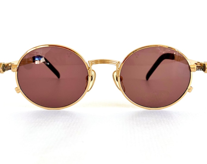 Vintage 1980s Jean Paul Gaultier 56-4178 Sunglasses – New Old Stock – Made in Japan