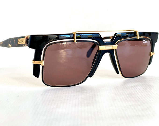 Cazal Mod 873 Col 721 Vintage Sunglasses – Made in Germany in 1990 – New Old Stock – Including Cazal Case
