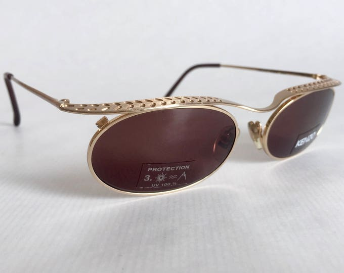 KENZO Creole K1379 Vintage Sunglasses Made in France - New Old Stock - Including Case