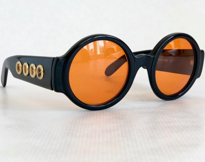 Patrick Kelly Paris «Popcorn 27» Vintage Sunglasses - New Old Stock - Made in France