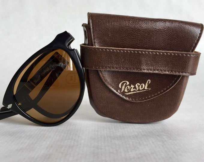 Persol Ratti 806 05 Folding Vintage Sunglasses New Old Stock including Case