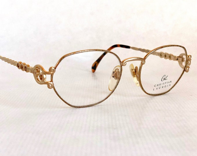 Christian Lacroix 6306 Vintage Glasses - New Old Stock including Pouch