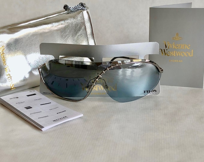 Vivienne Westwood Harlock Vintage Sunglasses – New Old Stock – Full Set