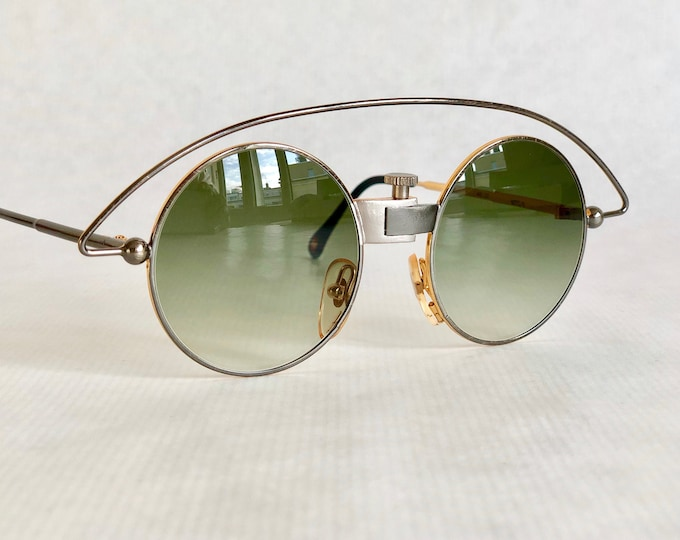 Casanova MTC 3 Vintage Sunglasses – 24k Gold Plated – New Old Stock