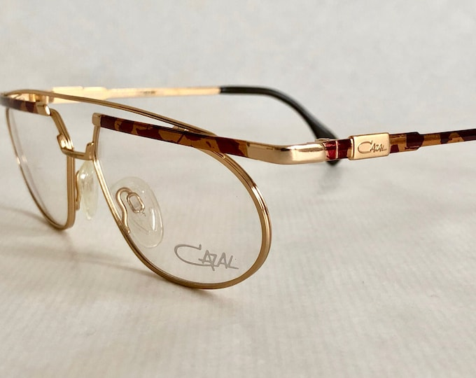 Cazal 254 Col 422 Vintage Glasses New Old Stock Made in Germany