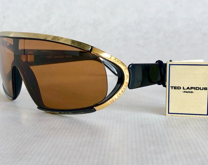 Ted Lapidus TL 202 Vintage Sunglasses – Made in France – New Old Stock