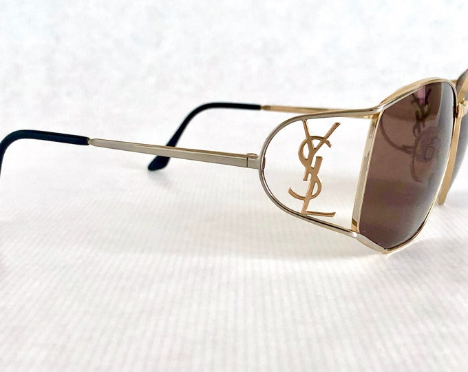 Yves Saint Laurent YSL 6008 Y116 Vintage Sunglasses – New Old Stock