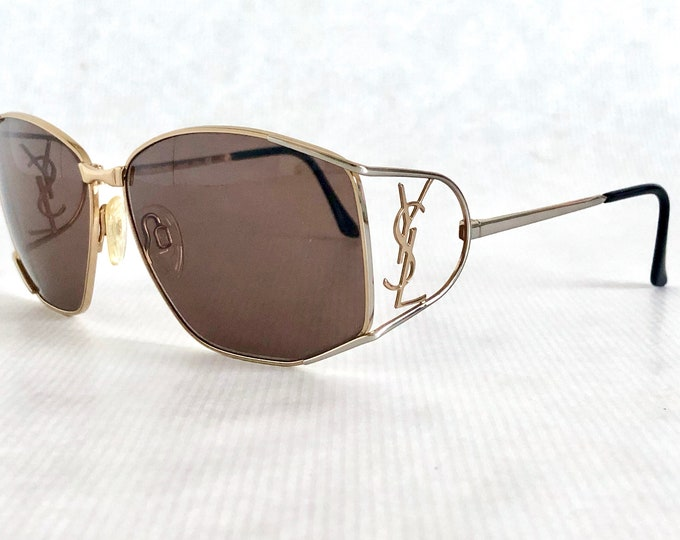 Yves Saint Laurent YSL 6008 Y116 Vintage Sunglasses – New Old Stock