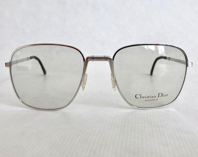 Folding Christian Dior Monsieur 2287 Vintage Glasses New Old Stock with Original Case