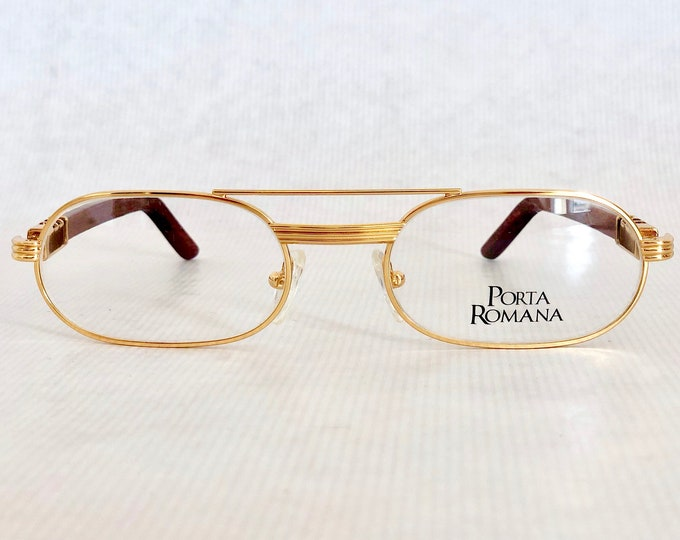 Porta Romana 12 Bootleg Vintage Sunglasses – New Old Stock – Made in Italy – Including Case
