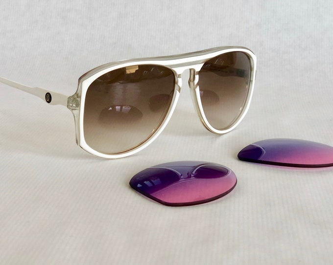 Princess Diana's Oliver Goldsmith Berwick 186 Vintage Sunglasses – Handmade in England – with 2 Sets of Lenses