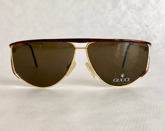 d260c7a16ca4 GUCCI GG 2233/S 07P Vintage Sunglasses – New Old Stock – including Gucci  Softcase