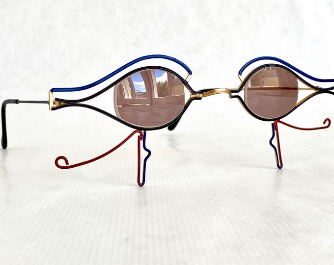 G. A. Perret Cléo Bespoke Vintage Sunglasses – New Old Stock – Made in Switzerland in the 1980s