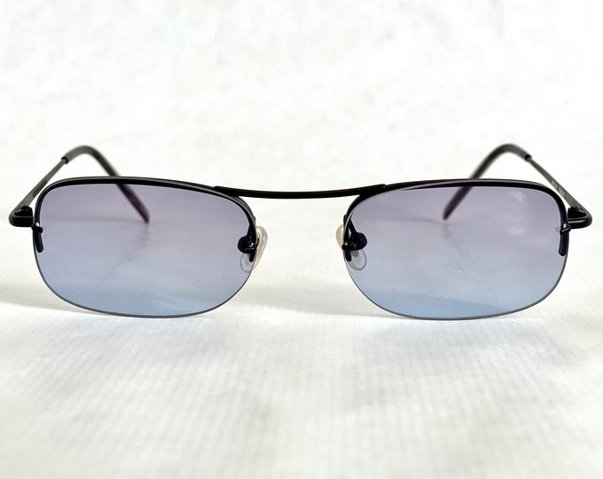 Götti + Niederer Ewan BLK Vintage Sunglasses – New Old Stock – Full Set with 2 Sets of Lenses – Made in Japan in the 1990s