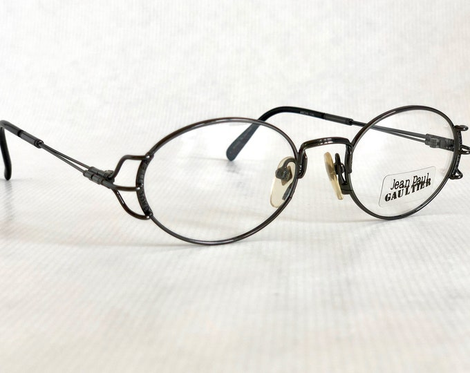 Jean Paul GAULTIER 55-6104 Vintage Glasses New Old Stock including Gaultier Case