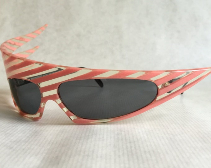 Alain Mikli Plume Glow in the Dark Vintage Sunglasses New Unworn Deadstock