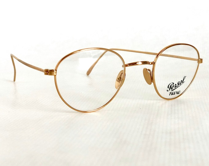 Persol Ratti Randy Vintage Glasses - New Old Stock - Including Handmade Persol Case