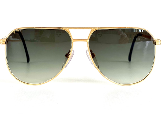 Vintage 1980s American Optical 9302 Sunglasses – 20k Gold Plated – NOS – Made in the USA
