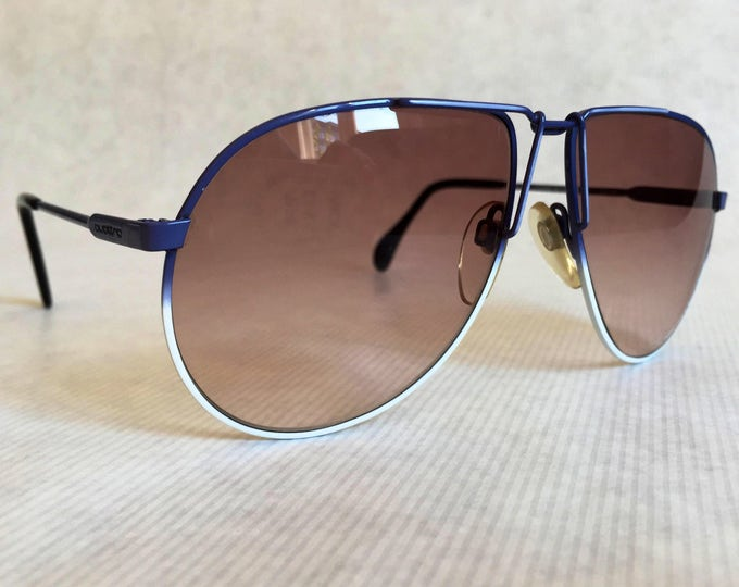 Quattro Wolf 0405 Vintage Sunglasses Made in West Germany New Unworn Deadstock