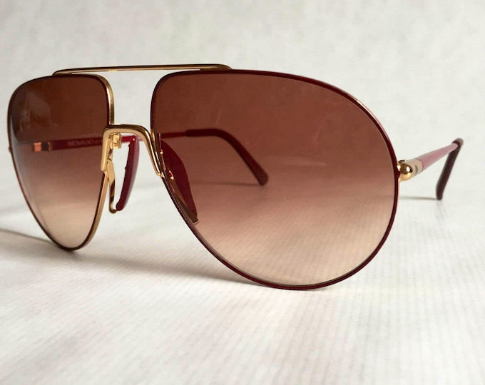 MOVADO by Carrera 5450 Vintage Sunglasses - New Old Stock Made in West Germany
