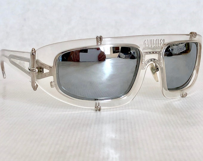 Jean Paul GAULTIER 56-6202 Vintage Sunglasses – New Old Stock – Including Gaultier Case