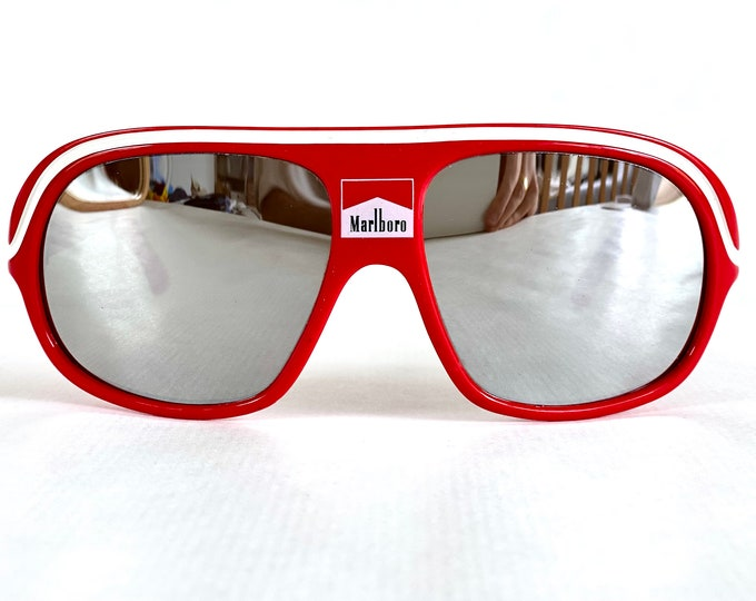 Vintage 1980s Marlboro Racing by Cébé Sunglasses – Made in France – New Old Stock