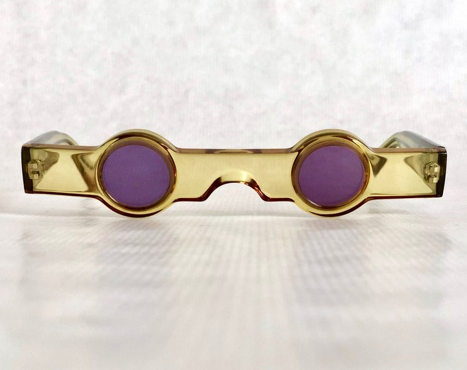 Alain Mikli 0155 100 Vintage Sunglasses – New Old Stock – Made in France in 1989